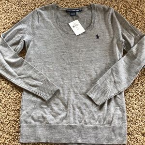 Ralph Lauren 100% Merino Wool Sweater NWT